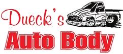 Dueck's Autobody Logo